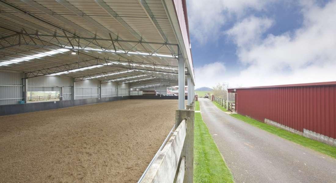 Rural Horse Arena