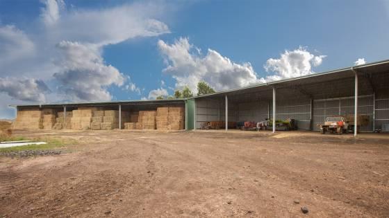 Hay Barn & Machinery Shed
