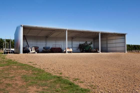 Large Machinery Shed