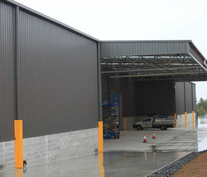Industrial Warehouse Awning