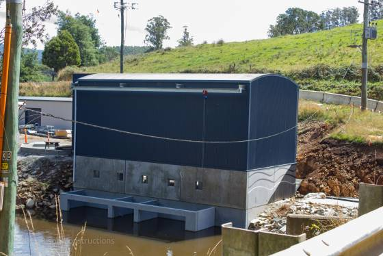 Irrigation Pump Station