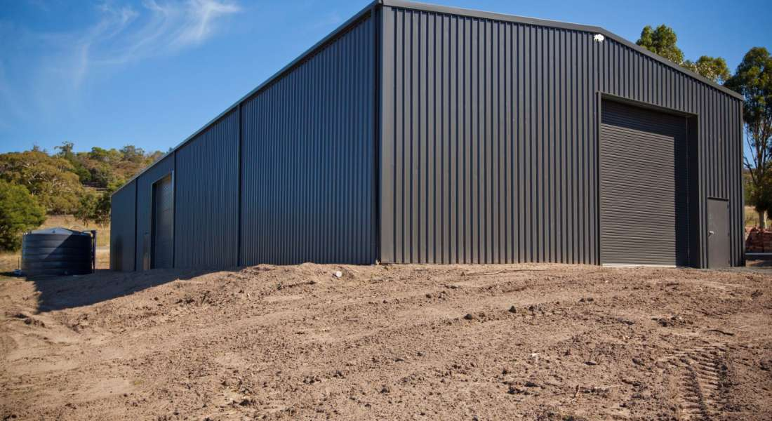 Rural Storage Building